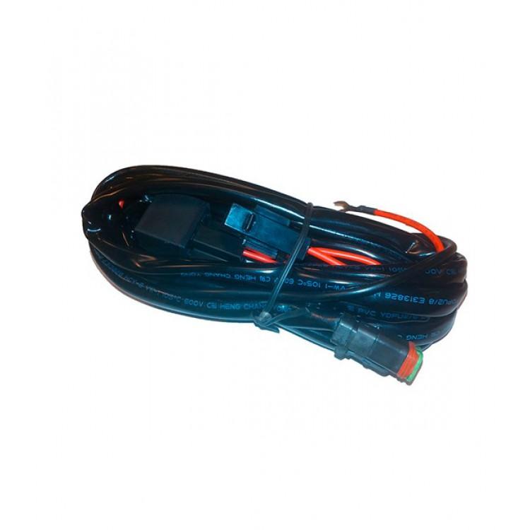 Кабель з перемикачем для підключення 2 LED фар DIGITAL