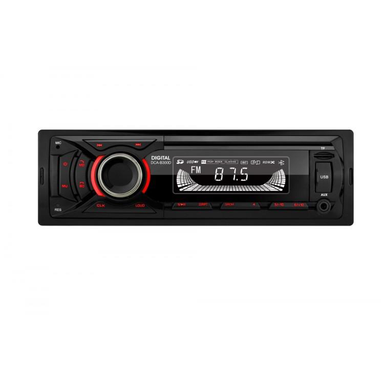 Автомагнітола DIGITAL DCA-B300D Red