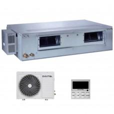 Канальний високонапірний кондиціонер DIGITAL DAC-CB48AH