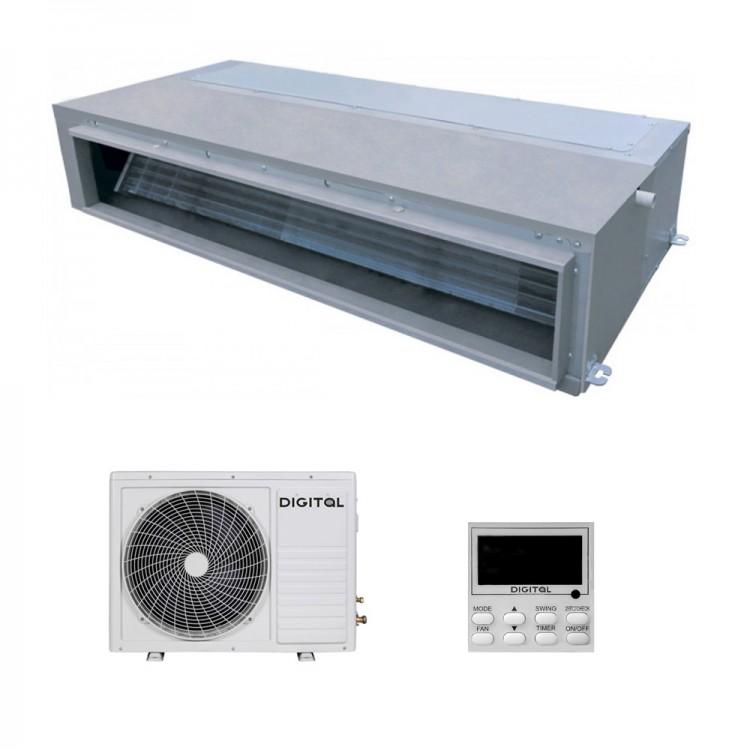 Канальний середньонапірний кондиціонер DIGITAL DAC-CB60CH